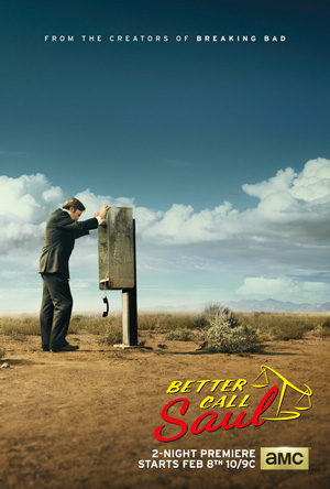 Better Call Saul season 1 poster AMC channel