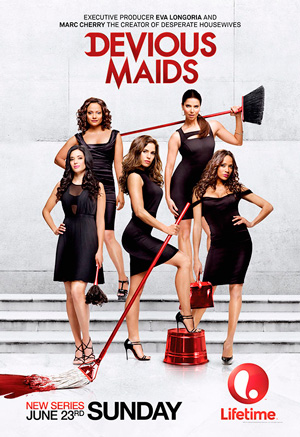 Devious Maids season 1 poster Lifetime channel