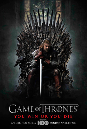Game of Thrones season 1 poster HBO channel