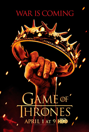 Game of Thrones season 2 poster HBO channel