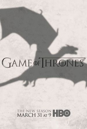 Game of Thrones season 3 poster HBO channel