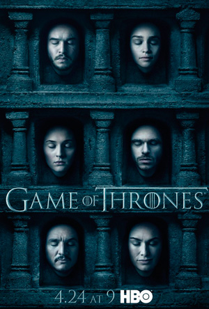 Game of Thrones season 6 poster HBO channel