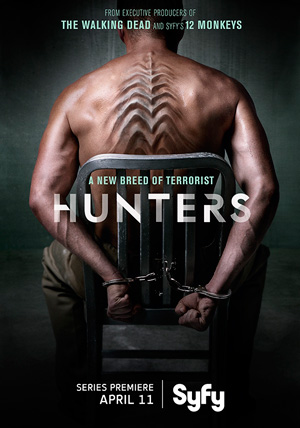 Hunters season 1 poster SyFy channel