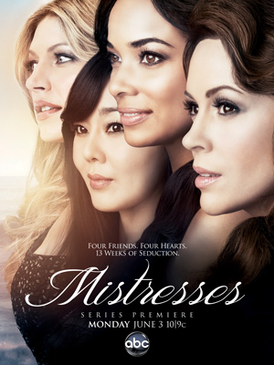 Mistresses season 1 poster ABC channel