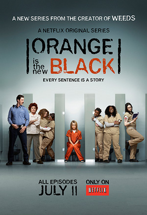 Orange is the New Black season 1 poster Netflix channel