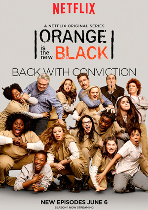 Orange is the New Black season 2 poster Netflix channel