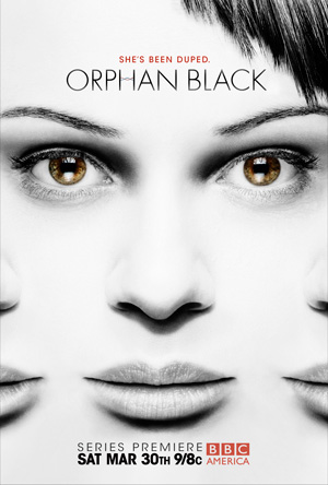 Orphan Black season 1 poster BBC America channel