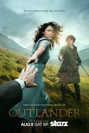 Outlander season 1 poster Starz channel