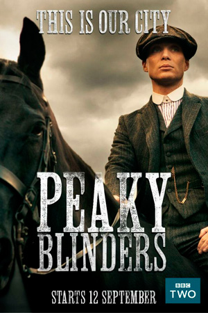 Peaky Blinders season 1 poster BBC Two channel