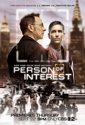 Person of Interest season 1 poster CBS channel