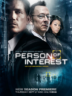 Person of Interest season 2 poster CBS channel