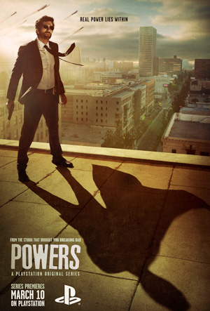 Powers season 1 poster PlayStation Network channel