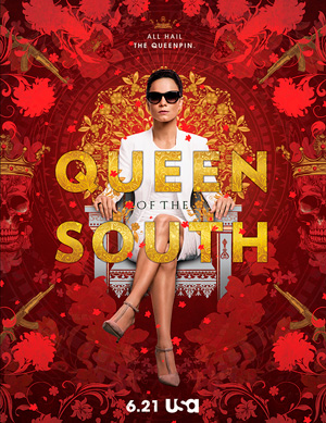 Queen of the South season 1 poster USA Network channel