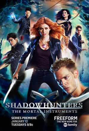 Shadowhunters season 1 poster Freeform channel