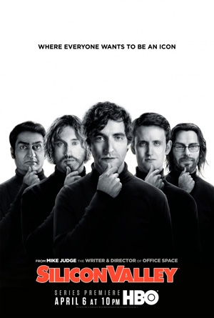 Silicon Valley season 1 poster HBO channel