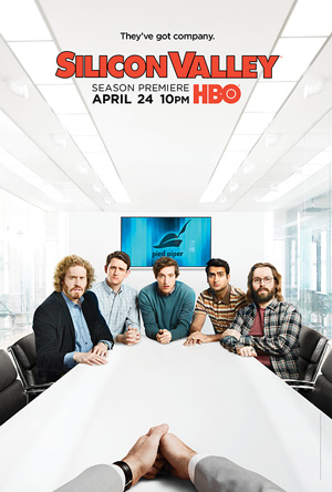 Silicon Valley season 3 poster HBO channel