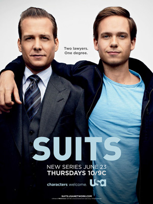 Suits season 1 poster USA Network channel