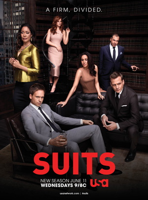Suits season 4 poster USA Network channel