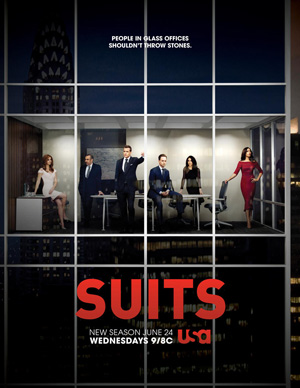 Suits season 5 poster USA Network channel