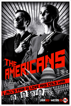 The Americans season 1 poster FX channel