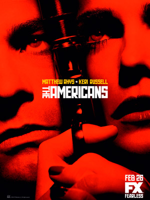 The Americans season 2 poster FX channel