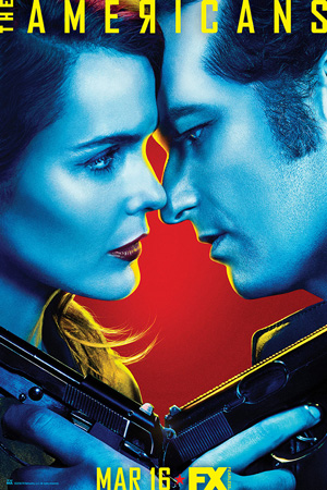 The Americans season 4 poster FX channel
