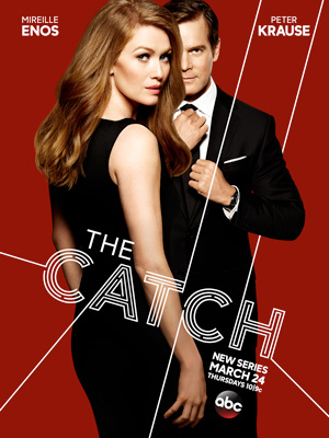 The Catch season 1 poster ABC channel