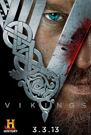 Vikings season 1 poster History channel