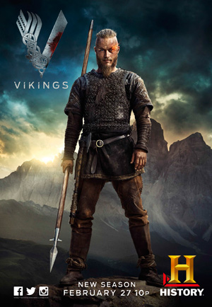 Vikings season 2 poster History channel