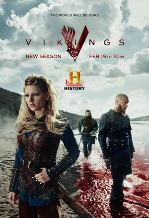 Vikings season 3 poster History channel