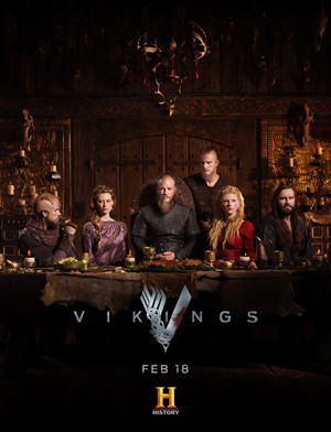 Vikings season 4 poster History channel