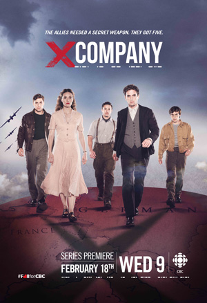X Company season 1 poster CBC channel