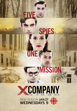 X Company season 2 poster CBC channel