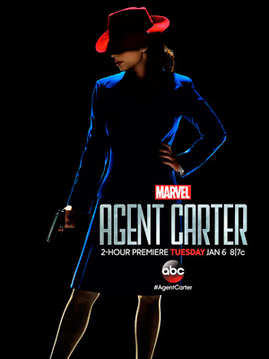 Agent Carter season 1 poster ABC channel