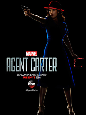 Agent Carter season 2 poster ABC channel