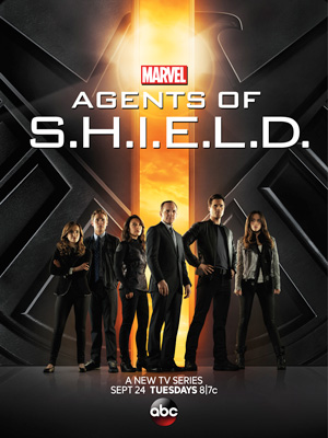 Agents of SHIELD season 1 poster ABC channel