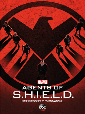 Agents of SHIELD season 2 poster ABC channel
