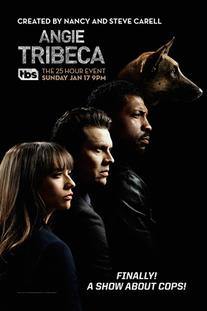 Angie Tribeca season 1 poster TBS channel