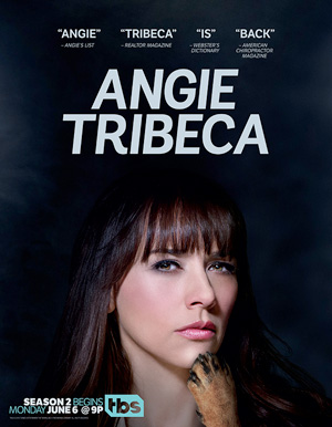 Angie Tribeca season 2 poster TBS channel