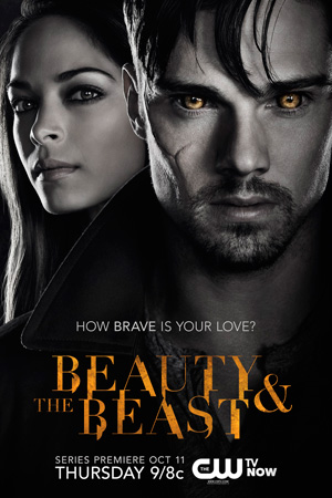 Beauty and the Beast season 1 poster The CW channel