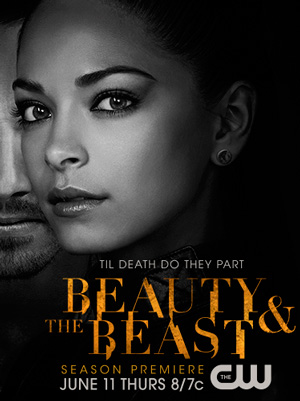 Beauty and the Beast season 3 poster The CW channel