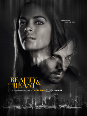 Beauty and the Beast season 4 poster The CW channel
