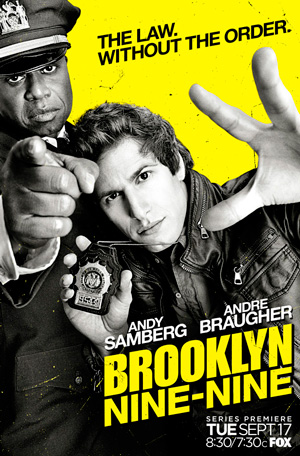 Booklyn Nine-Nine season 1 poster FOX channel