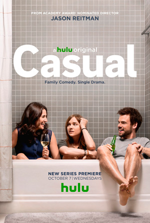 Casual season 1 poster Hulu channel