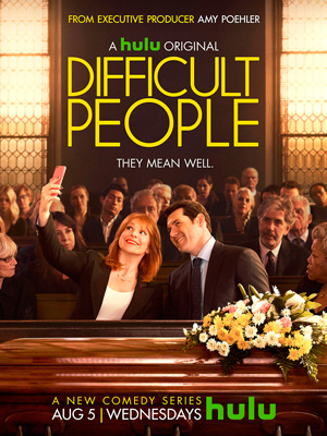 Difficult People season 1 poster Hulu channel