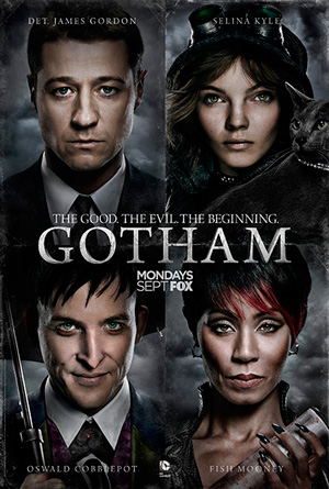 Gotham season 1 poster FOX channel