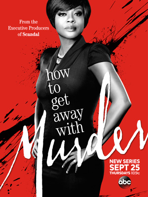 How to Get Away with Murder season 1 poster ABC channel