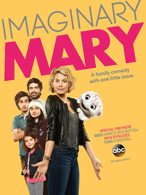 Imaginary Mary season 1 poster ABC channel