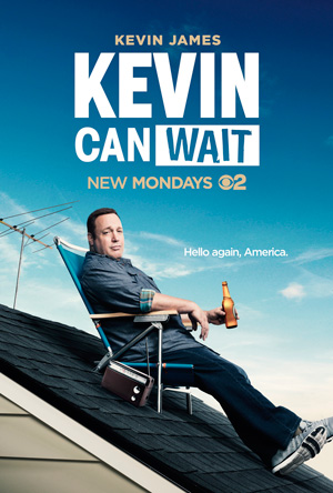 Kevin Can Wait season 1 poster CBS channel