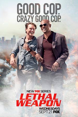 Lethal Weapon poster season 1 FOX channel